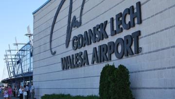 Problemy z odprawą na lotnisku w Gdańsku. Pasażerowie spóźnili się na samolot