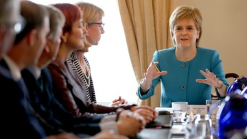 27-06-2016 19:30 Szkocja zamierza negocjować pozostanie w UE