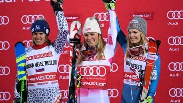 2017-01-31 Alpejski PŚ: Zwycięstwo Shiffrin i Strassera w slalomie równoległym