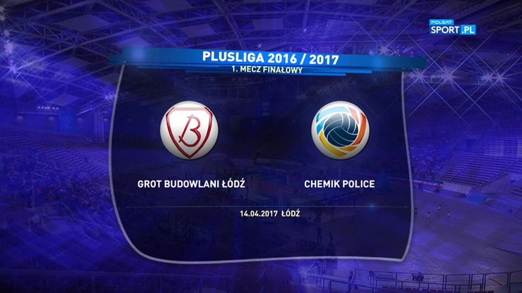 Grot Budowlani Łódź – Chemik Police 0:3. Skrót meczu