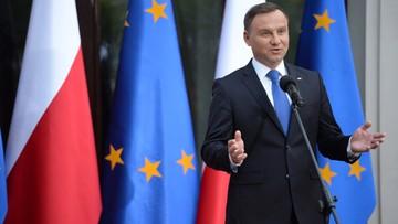 02-06-2016 20:55 Prezydent Duda: przyszłość europejskiego wymiaru sprawiedliwości ma ogromne znaczenie