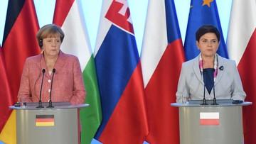 """26-08-2016 13:21 """"Trzeba wyciągnąć wnioski z Brexitu"""". Szydło po rozmowie z Merkel"""