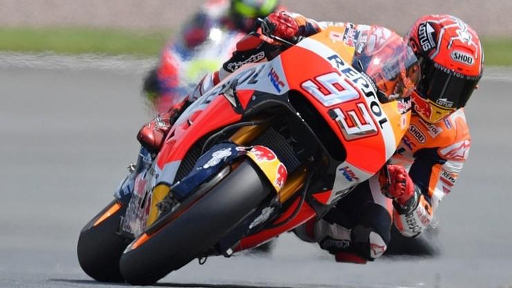 MotoGP: Marquez na pole position w Niemczech, Lorenzo znów w opałach