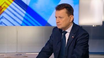 """13-12-2016 09:31 """"Dyktatorem był wówczas Jaruzelski, a nie Piotrowicz"""". Błaszczak o świadczeniach byłych prokuratorów PRL"""