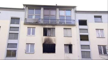 04-03-2016 17:13 Zabarykadował się w mieszkaniu, podpalił je i powiesił się