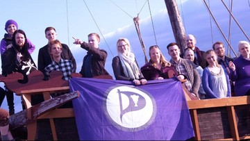 27-01-2016 11:48 Islandzka Partia Piratów na topie. Popiera ją prawie połowa mieszkańców kraju