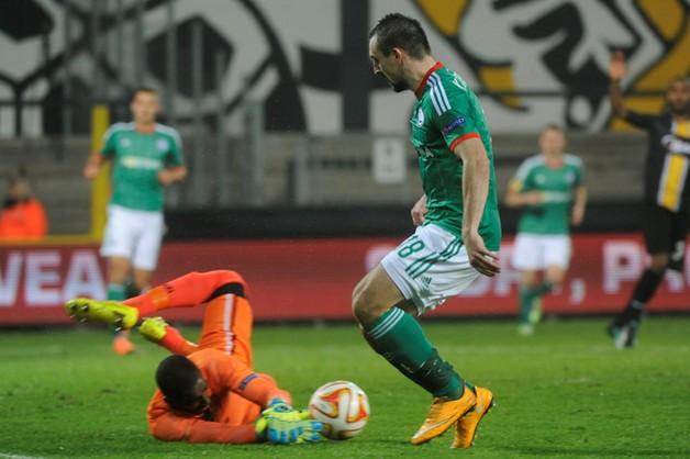 Legia przegrała z Lokeren 0:1