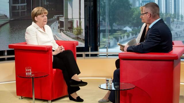 Merkel dla ARD: koniec z dyskusją o Grexicie