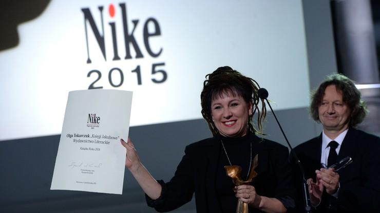 """""""Księgi Jakubowe"""" Olgi Tokarczuk nagrodzone Literacką Nagrodą Nike"""