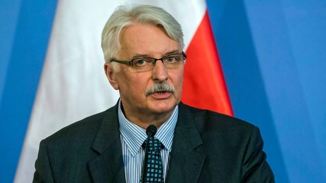 Waszczykowski: dialog między UE a Turcją powinien być intensywniejszy