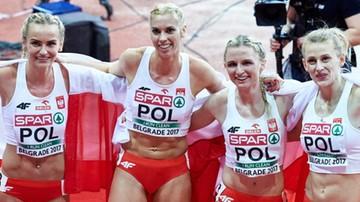 2017-03-05 HME Belgrad 2017: Polki mistrzyniami Europy w sztafecie 4x400 m!