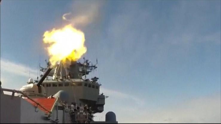 Rosyjskie okręty ostrzelały obiekty IS w rejonie Syrii