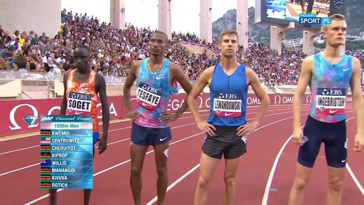 Diamentowa Liga: Lewandowski ustanowił rekord Polski na 1500 m