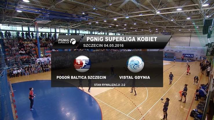Pogoń Baltica Szczecin - Vistal Gdynia 24:21. Skrót meczu