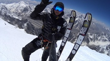 10-08-2016 15:50 Kolejny wyczyn Bargiela. Zjechał na nartach ze szczytu Chan Tengri