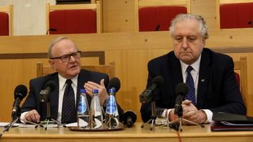 20-04-2016 15:51 Rzepliński: komisja mająca rozwiązać spór ws. TK pozoruje prace