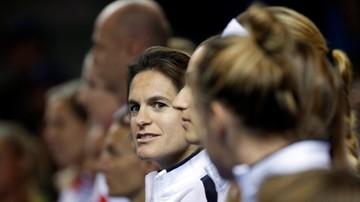 2016-11-14 Fed Cup: Ciężarna Mauresmo zrezygnowała z funkcji kapitana Francuzek