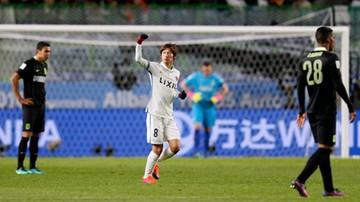 2016-12-14 Klubowe Mistrzostwa Świata: Kashima Antlers pierwszym finalistą