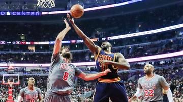 2016-12-03 NBA: Trzecia porażka z rzędu broniących tytułu Cavaliers