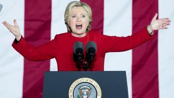 08-11-2016 05:48 Clinton kończy kampanię obietnicą jedności i wielkim koncertem