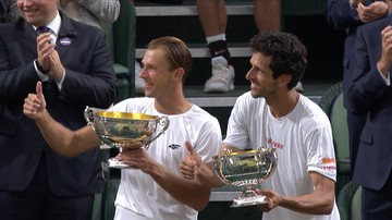 Wielki sukces Łukasza Kubota. Polak i Marcelo Melo mistrzami Wimbledonu!