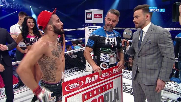 Silva: Zmierzyłem się z najlepszym zawodnikiem w Polsce. Chcę walki o pas!