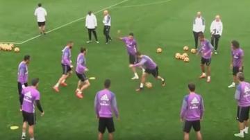 2016-10-29 Ronaldo dostał siatę i… zaatakował rodaka (WIDEO)