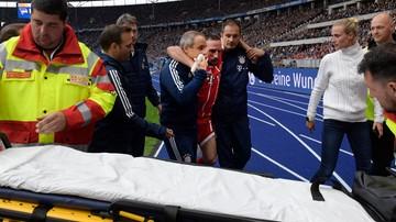2017-10-02 Kłopoty Bayernu. Ribery poważnie kontuzjowany
