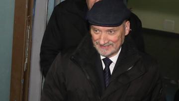 Macierewicz: SKW uznała, że gen. Kraszewski nie powinien mieć dostępu do informacji niejawnych