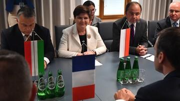"""""""Odniosłam wrażenie, że zależy mu na dobrych relacjach z Polską"""". Premier po spotkaniu z Macronem"""