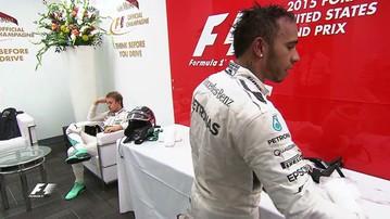2015-10-26 Czapka niezgody? Oburzające zachowanie Rosberga! (WIDEO)