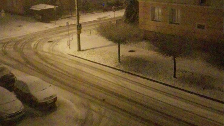 Atak zimy w Radomiu