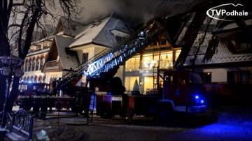 """20-10-2017 11:22 """"Pracownik hotelu wyłączył instalację alarmową"""". Raport straży pożarnej po pożarze w hotelu Belvedere"""