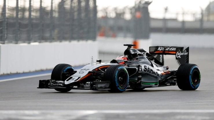 GP Rosji: Huelkenberg i Massa najszybsi na treningach
