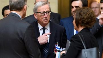 18-01-2017 15:38 Juncker: Negocjacje z Wielką Brytanią będą bardzo trudne