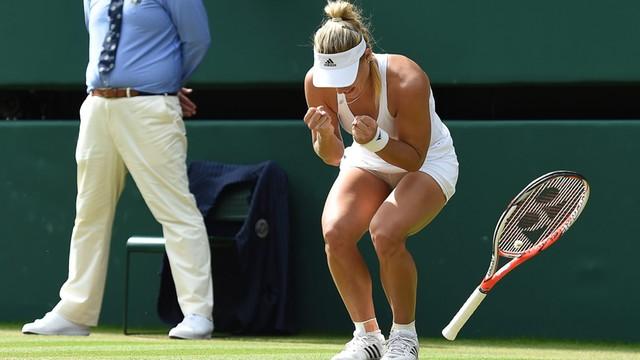 Wimbledon: Kerber finałową rywalką Sereny Williams