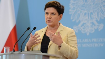 """26-08-2017 16:33 """"Polska nie jest izolowana w UE, broni swoich racji"""". Szydło odpowiada Macronowi"""