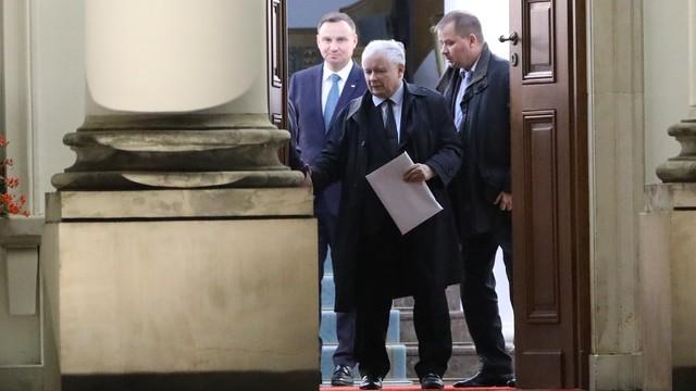 Łapiński: prezydent ma zastrzeżenia do części poprawek PiS
