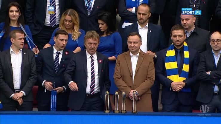 2017-05-02 Arka Gdynia zdobyła Puchar Polski! Ceremonia wręczenia trofeum