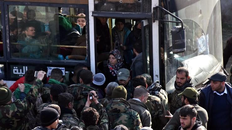 Czerwony Krzyż potwierdził zakończenie ewakuacji wschodniego Aleppo
