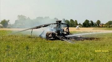 Włochy: rozbił się polski śmigłowiec wojskowy. Cała załoga uratowana. Wstrzymane loty Sokołów