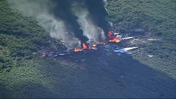 Katastrofa samolotu wojskowego w USA. Zginęło 16 osób