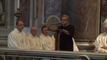 14-05-2016 07:47 Beata Kempa zaśpiewała psalm w Watykanie [NAGRANIE]
