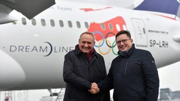 2017-11-02 Pjongczang 2018: PLL LOT oficjalnym przewoźnikiem reprezentacji olimpijskiej
