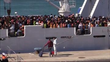 24-02-2017 14:32 Nasila się napływ migrantów do Włoch. 1700 w ciągu doby