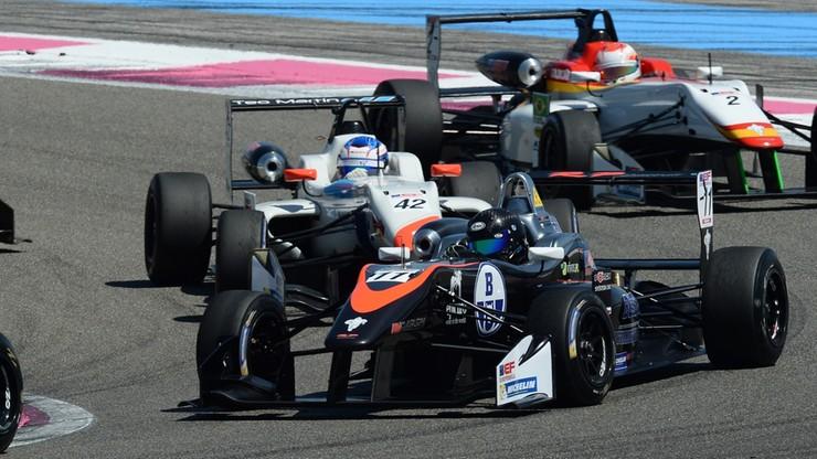 Karkosik o włos od podium w Formule 3 we Francji