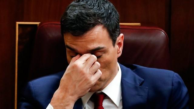 Hiszpania: Sanchez nie uzyskał wotum zaufania w parlamencie