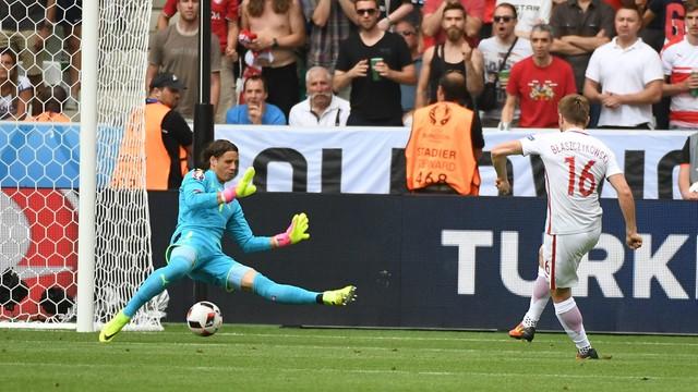 Polska prowadzi ze Szwajcarią 1:0 (do przerwy)
