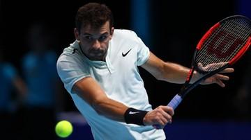 2017-11-18 ATP Finals: Goffin z Dimitrowem w finale
