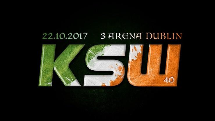 2017-07-25 KSW 40 odbędzie się w Irlandii!